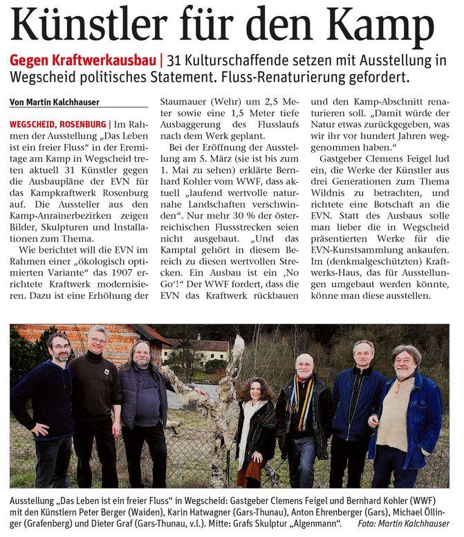 lebendiger kamp - NÖN W10/2016